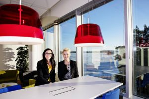 Juttua varten haastatellut Pia Hautamäki ja Sari Uusitalo